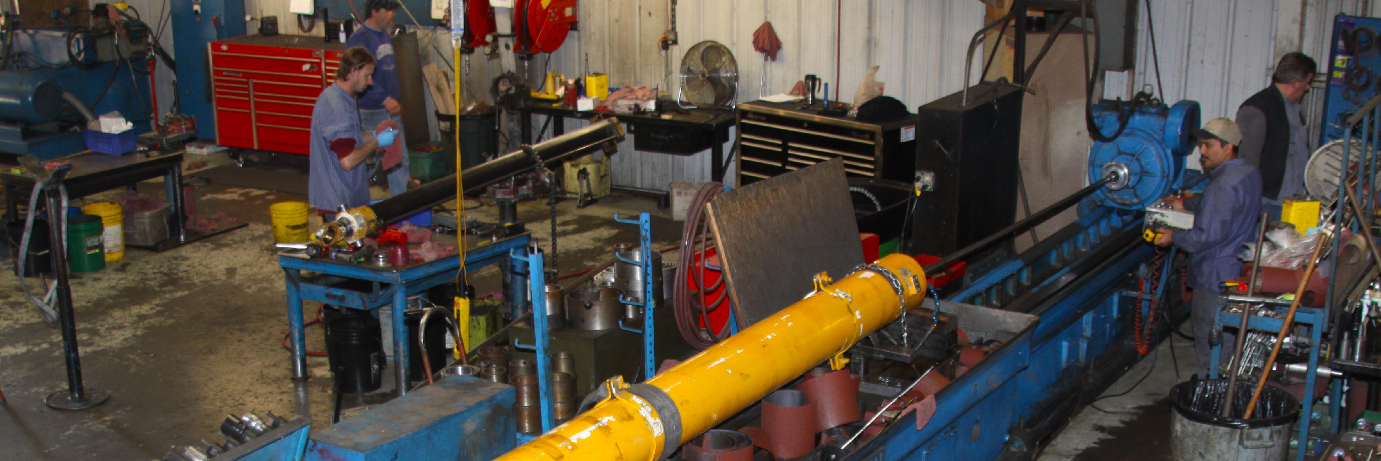 hydraulics teamwork